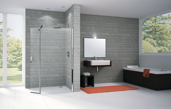 Douche l 39 italienne combien co te son installation en for Douche italienne photo