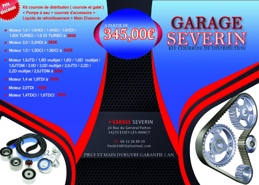 Garage severin for Garage renault essey les nancy