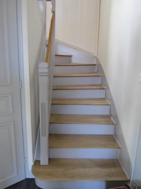 Fretigne sarl for Peinture marche escalier
